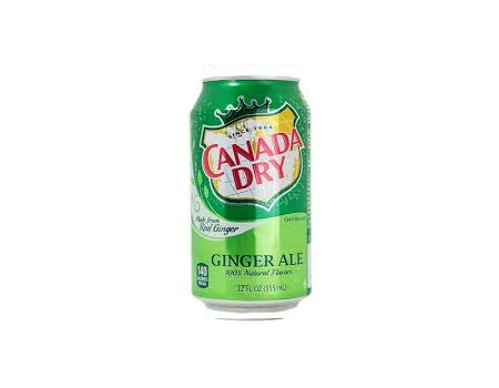 Canned Canada Dry