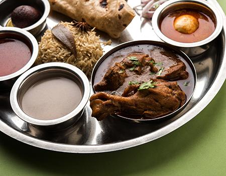 Non-Vegetable Thali